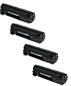 4-Pk/Pack CRG-125Toner Cartridge for Canon ImageClass LBP6000 LBP6030w MF3010