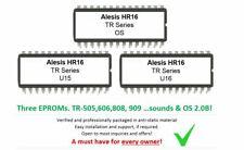 Alesis HR16 - Soundchip Upgrade 707,606, 808 & 909 kit incl. Firmware chip 2.0