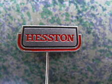 HESSTON - agriculture machinery - harvesters, tractors.. - Vintage pin badge