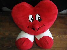 "24"" plush jumbo smiling Heart doll, good condition"