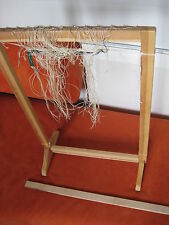 "vintage  Wooden Sweden tapestry  Weaving Loom 26"""