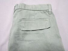 J BRAND WOMENS VIN GARRIS OLIVE GREEN TAPERED LEG JEAN CARGO PANTS SIZE 27 NEW