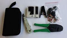 Netzwerkset CAT6  10x HIROSE TM21 Stecker + 1 x Crimpzange für HIROSE Stecker