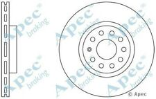 1x OE Quality Replacement Front Axle Apec Vented Brake Disc 5 Stud 312mm Single