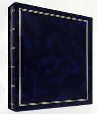 """Navy Blue Classic Slip In Photo Album In Box Holds 500 6"""" x 4"""" Photos Gift"""