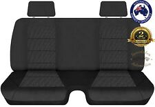 HOLDEN RODEO 1999-2003 DX SINGLE CAB ELITE JACAURD CHARCOAL SEATCOVER