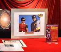 BATMAN Signed ADAM WEST & BURT WARD Autograph Color Photo, FRAME, DVD, UACC COA