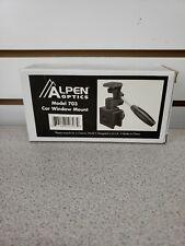 NEW Alpen Optics Model 703 Camera Car Window Mount FREE SHIP
