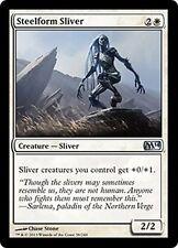 MTG Magic M14 - (2x) Steelform sliver/Slivoïde à forme d'acier, English/VO