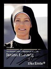 Janina Hartwig Um Himmels willen Autogrammkarte Original  # BC 104771