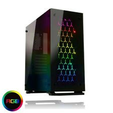 Game Max Onyx RGB Mid Tower ATX Tempered Glass Case USB 3.0 RGB Fans x 3