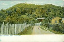 Vicksburg, MS. Children on Country Road at Chickasaw Bluff, A Tuck Post Card