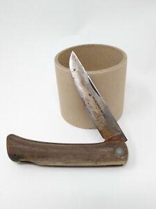 Antique Friedr Herder Abr Sohn Ace Of Spades Pocket Folding Knife Germany