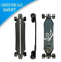"Kyng 37"" Electric Skateboard 22 MPH 960W Dual Motors 11 Mile Range Longboard NEW"