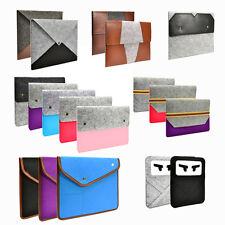 Wool Felt Laptop Sleeve Bag Case Cover for Macbooks / Ultrabooks / Chromebooks