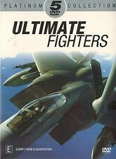 ULTIMATE FIGHTERS, 5 DVD BOXSET. F-14, F/A-18, F-16, F-15. PLATINUM COLLECTION