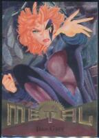 1995 Marvel Metal Trading Card #6 Jean Grey