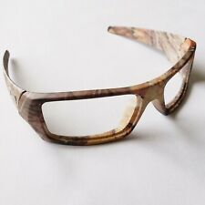 OAKLEY GASCAN WOODLAND KINGS CAMO REPLACEMENT FRAME ONLY AUTHENTIC MATTE BROWN
