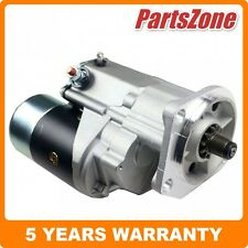 Starter Motor Fit for Nissan GQ Patrol GU Y60 Engine TD42 4.2L Diesel 88-97