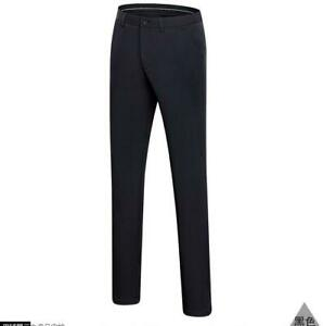 New Fashion Men Golf Pants Stretch Breathable Flat Front Straight Golf Trousers