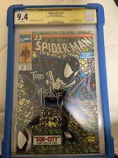 Spiderman 13 Cgc 9.4 Ss Todd Macfarlane