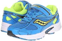 Saucony Little Kid Boys Size 11 M Cohesion 8 A C Running Shoe Blue Citron NIB