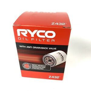 Z432 RYCO Oil Filter for Toyota Corolla Celica 2ZZGE Rukus Rav4 Camry 4AGE AE92