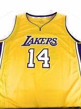 NWOT Fanatics Los Angeles Lakers Brandon Ingram Fast Break Gold Jersey 2XL Men