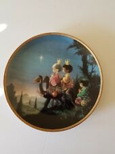 Precious Moments They Followed the Star Hamilton Collection Plate 1991