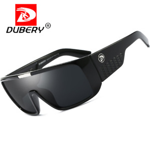 DUBERY Large Frame Sport Sunglasses For Men Outdoor Cycling Windproof Goggles
