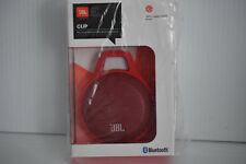 JBL Clip Portable Bluetooth Speaker With Mic Red JBLCLIPREDAM