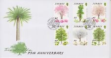 Unaddressed Jersey Cover FDC 2012 Trees for Life 75th Anniversary Set 10% off 5
