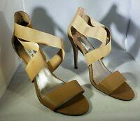 Steve Madden Women's Tan Strappy Heels Size 8.5 US