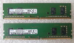 Samsung M378A5244CB0-CRC 8GB 2x4GB PC4-19200 2400MHz UDIMM Memory Ram DDR4 Pc