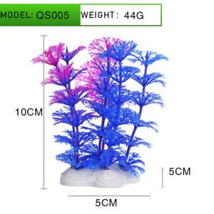 Aquarium Plastic Artificial Fish Tank Plant Plants Decoration Grass Water Decor
