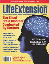 LIFE EXTENSION March 2014 -- Brain Aging, Autoimmune, Zinc, Testosterone, Heart