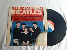 The Beatles The Amazing Beatles LP 1966 pressing on Clarion Vinyl Record 601