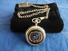 STAR TREK  UNITED FEDERATION OF PLANETS SEAL POCKET WATCH WITH CHAIN (NEW) (2)