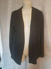 Size 12 Black & Silver Billie & Blossom Cardigan / Jacket Brand NEW