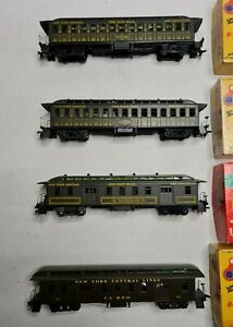 Roundhouse HO  50' Pullman NYC Car Set Of 4