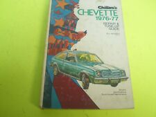 CHEVETTE 1976-1977 CHILTON REPAIR SHOP SERVICE MANUAL WITH WIRING DIAGRAMS