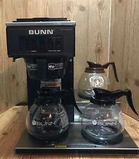 Bunn Vp17 3 Commercial Restaurant Office Pour Over Coffee Maker Brewer 3 Warmers