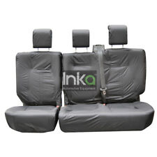 Land Rover Discovery 4 2nd Row Inka Tailored Waterproof Seat Covers Grey 09-16