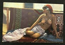 postcard Africa Lehnert & Landrock Naked Woman Nude young girl Unused Afrique