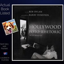 Hollywood Foto-Rhetoric The Lost Manuscript by Bob Dylan Poetry Hardcover VG