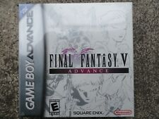 Final Fantasy V Advance (Nintendo Game Boy Advance, 2006) NEW SEALED