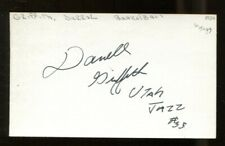 Darrell Griffith Signed Index Card 3x5 Autographed Utah Jazz Louisville 56497
