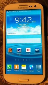 Samsung Galaxy S III SPH-L710 16GB Boost White Fast Shipping Good Used