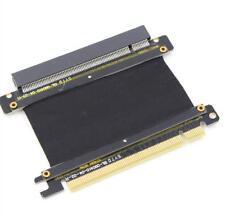 PCI-Express 3.0 Gen3.0 16x to PCIE 3.0 x16 Riser Extension Flex M-F Cable 5cm