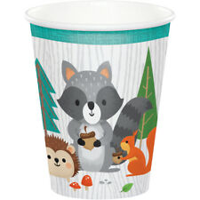Wild One Woodland Paper Cups, 24 Count